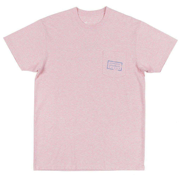 Authentic Tee in Washed Camelia by Southern Marsh