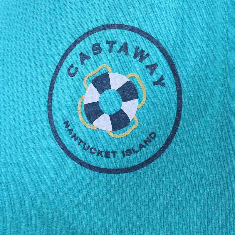 Beach T-Shirt in White with Grand Slam Deep Sea Fishing by Castaway Clothing - FINAL SALE