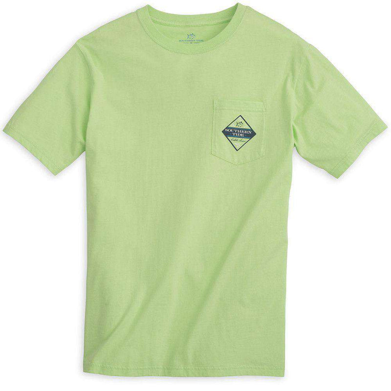 Catch of the Day (Blue Crab) Tee Shirt in Lime by Southern Tide