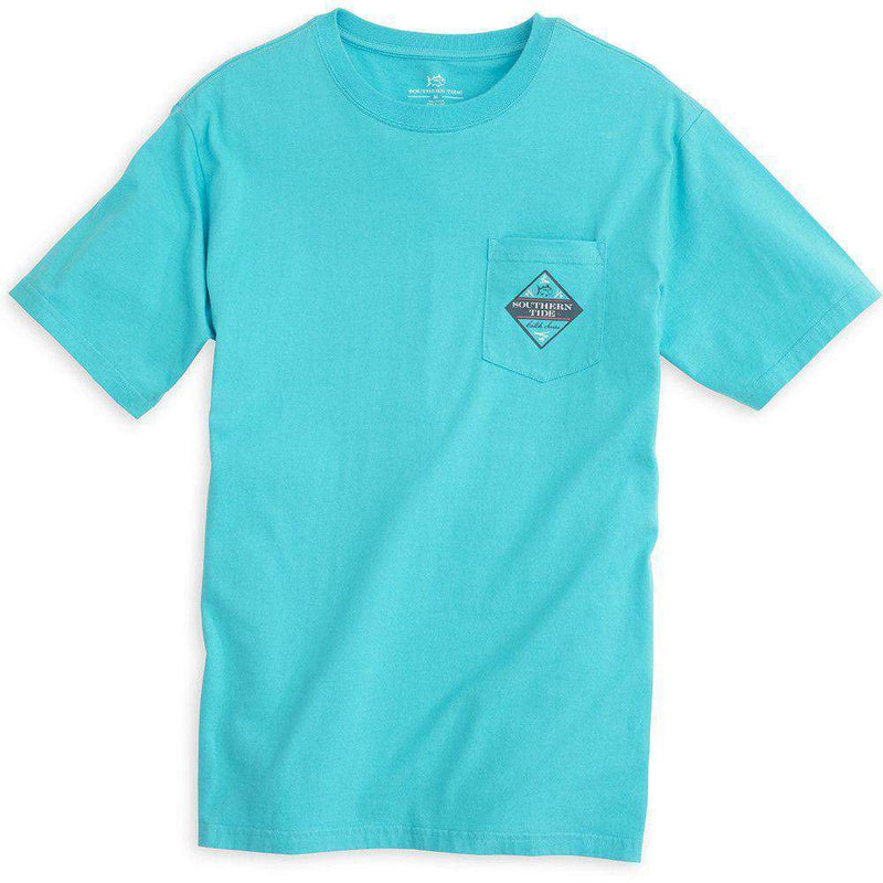 Catch of the Day (Trout) Tee Shirt in Scuba Blue by Southern Tide