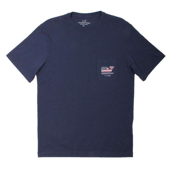 Men's Tee Shirts - Custom Everyday Should Feel This Good In The South Tee In Blue Blazer By Vineyard Vines