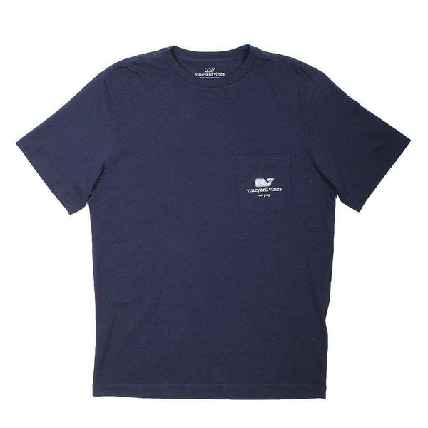 Custom Logo Tee in Blue Blazer by Vineyard Vines