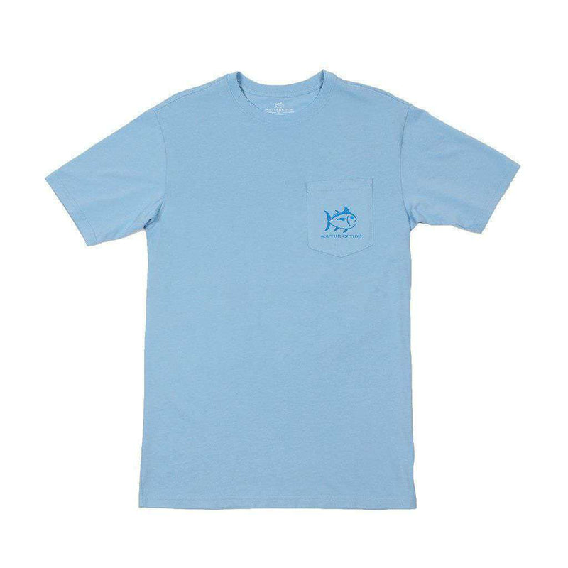 Day on the Water Tee in Sky Blue by Southern Tide