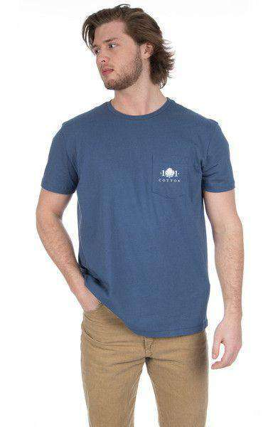 Decoy Pocket Tee in Navy by Cotton 101 - FINAL SALE