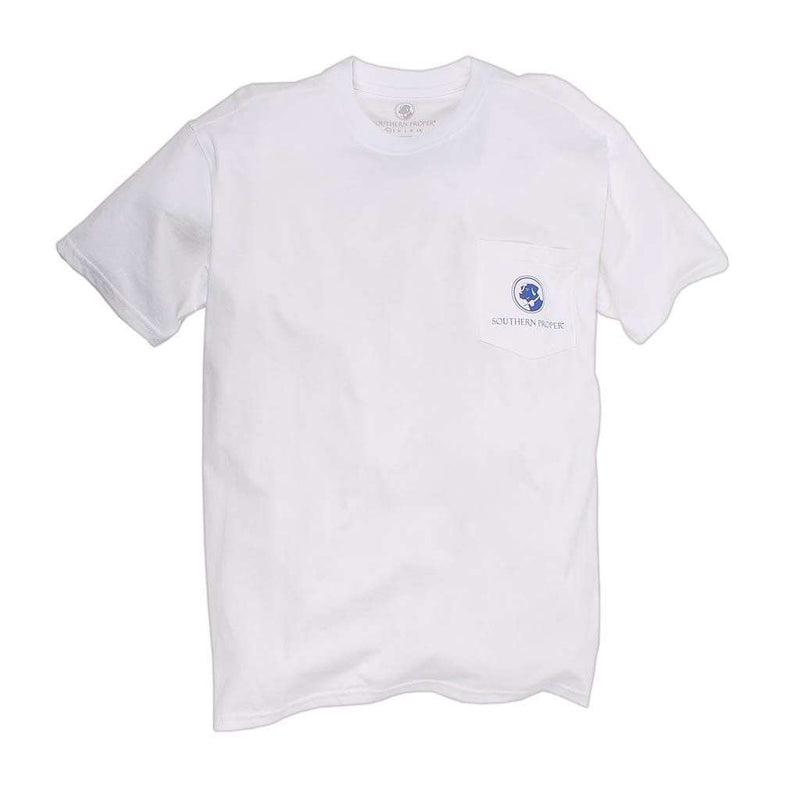 Exclusive Oh My Stars Tee in White by Southern Proper