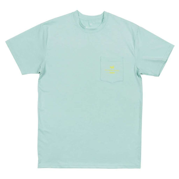FieldTec™ Heather Performance Tee - Redfish by Southern Marsh - FINAL SALE