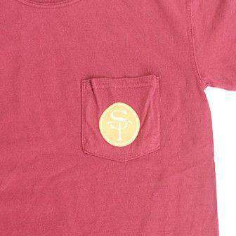 Men's Tee Shirts - FL Tallahassee Gameday T-Shirt In Garnet By State Traditions