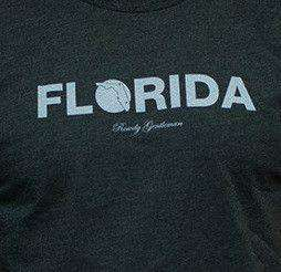 Florida State Pride Vintage Tee in Faded Grey by Rowdy Gentleman - FINAL SALE