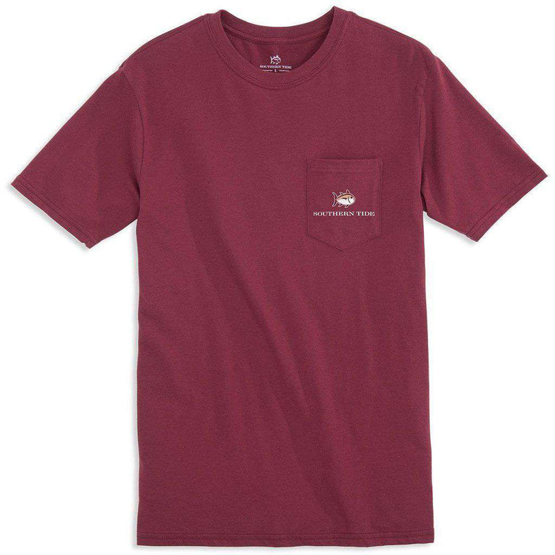 Florida State University Skipjack Fill T-Shirt in Chianti by Southern Tide