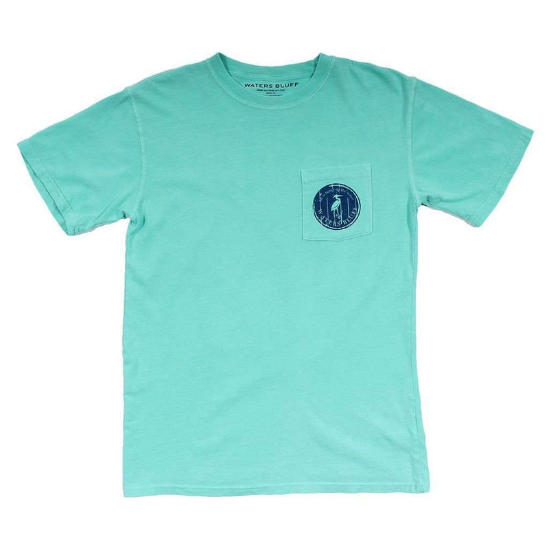 Free & Easy Tee Shirt in Chalky Mint by Waters Bluff