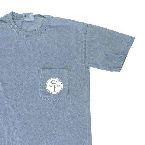 GA Traditional T-Shirt in Slate Blue by State Traditions