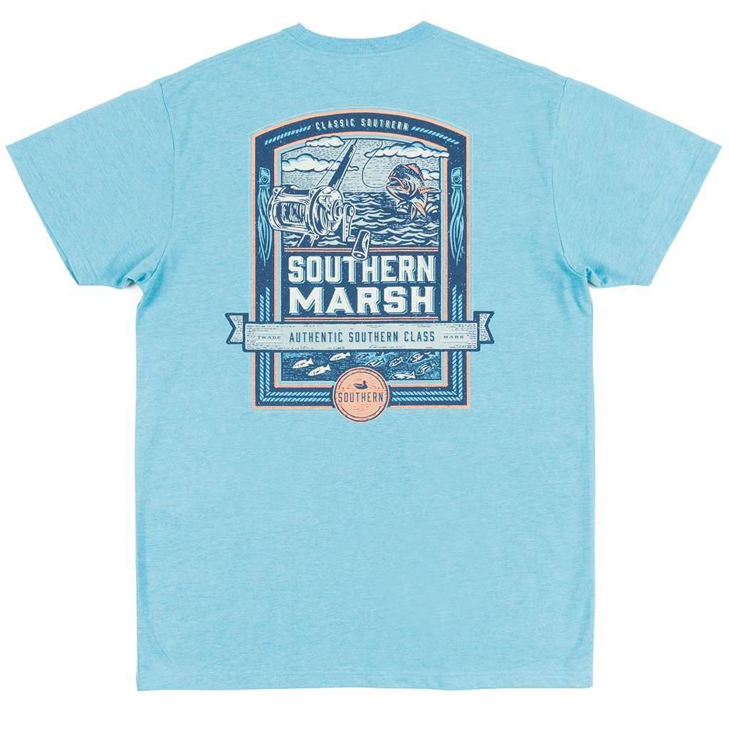 Southern Marsh Genuine Collection Offshore Tee In Washed