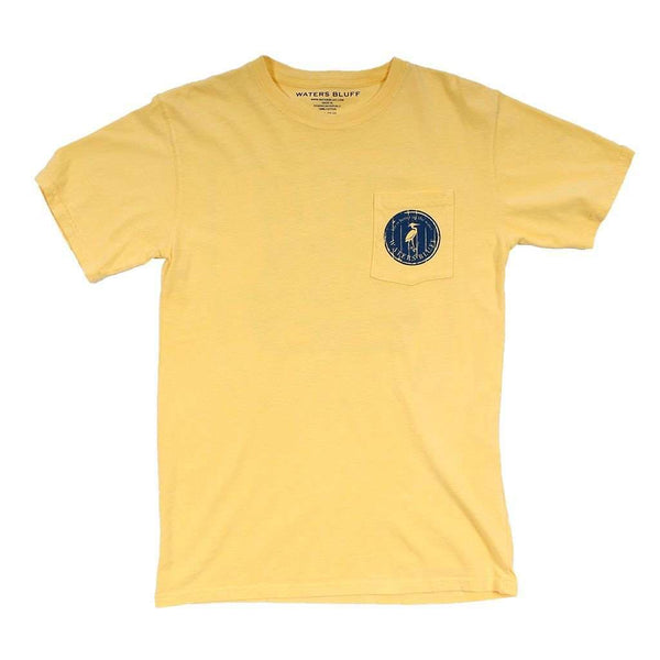 Granddaddy Joe's Tee Shirt in Butter by Waters Bluff