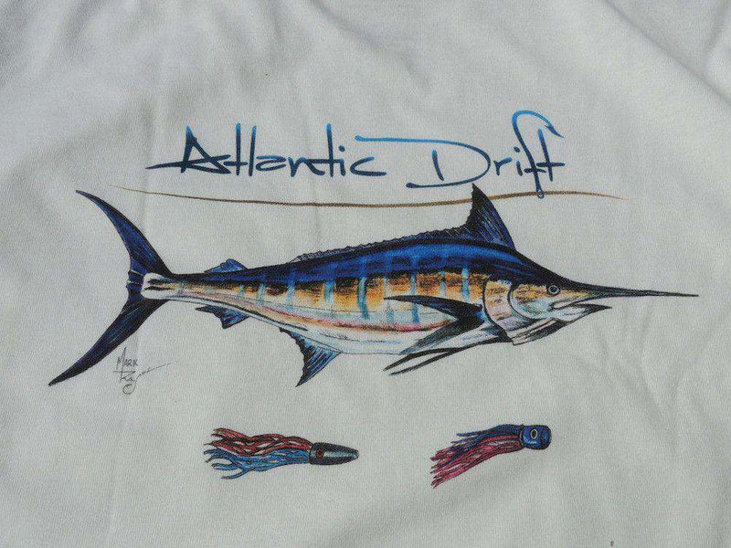 Men's Tee Shirts - Grander Pocket Tee In White By Atlantic Drift - FINAL SALE