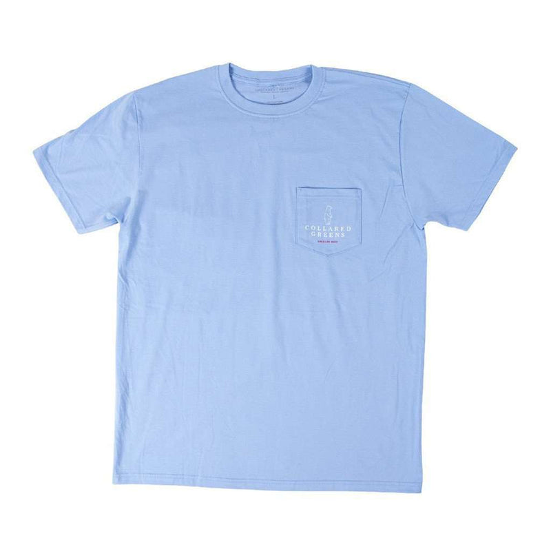 Grouper Short Sleeve T-Shirt in Carolina Blue by Collared Greens
