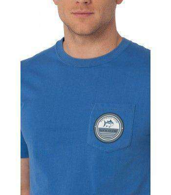 Gulf Stream Pocket Tee in Over Sea Blue by Southern Tide