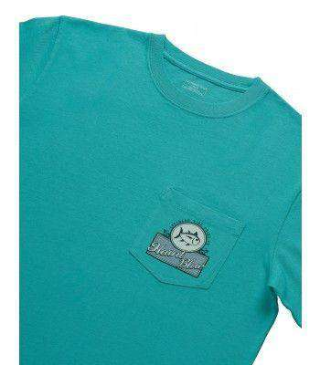 Haint Blue Tee Shirt in Haint Blue by Southern Tide