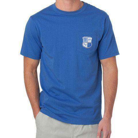 Heritage Crest Tee in Over Sea Blue by Southern Tide