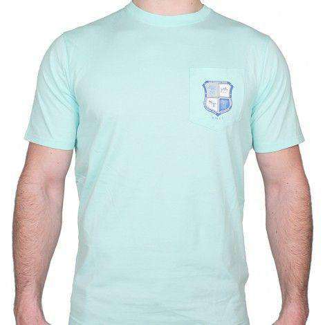 Heritage Crest Tee in Sea Foam by Southern Tide