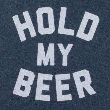 Hold My Beer Vintage Tee Shirt in Navy by Rowdy Gentleman - FINAL SALE