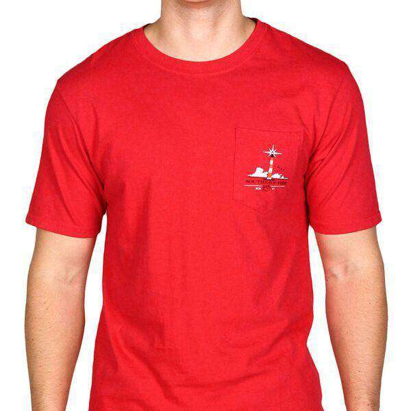 Home is Where the South is Tee Shirt in Portside Red by Southern Tide