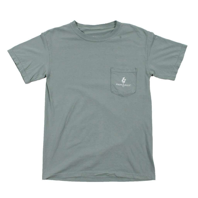 Hunting Bow Deer Tee in Bay by Fripp & Folly - FINAL SALE