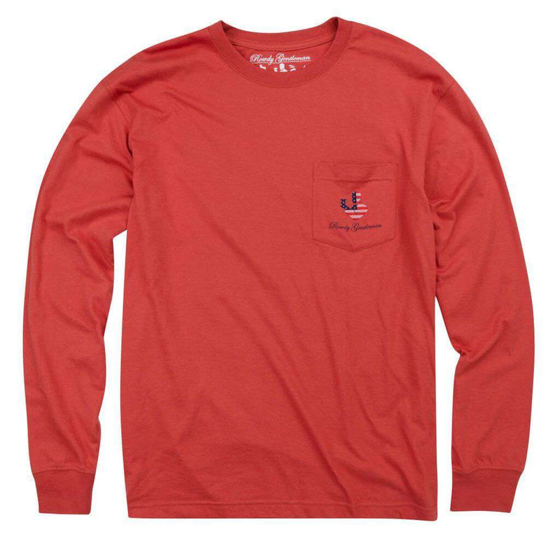 I'm Sorry I Thought This Was America Long Sleeve Pocket Tee by Rowdy Gentleman
