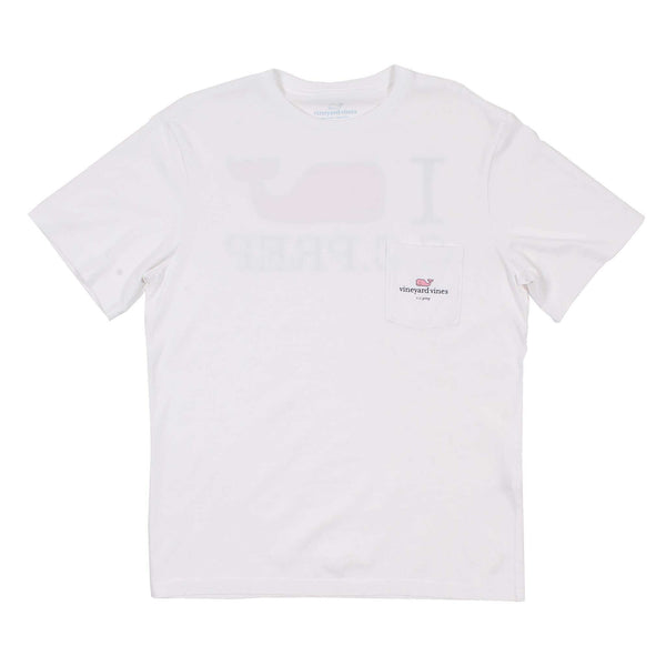 I Whale CC Prep Tee Shirt in White Cap by Vineyard Vines