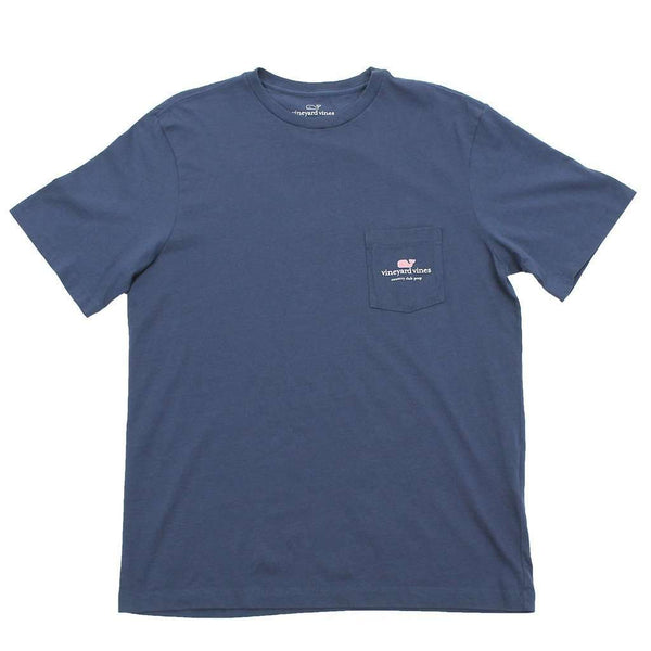 I Whale Country Club Prep Tee in Blue Blazer by Vineyard Vines
