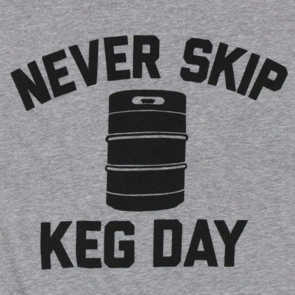 Keg Day Vintage Tee Shirt in Dark Grey by Rowdy Gentleman