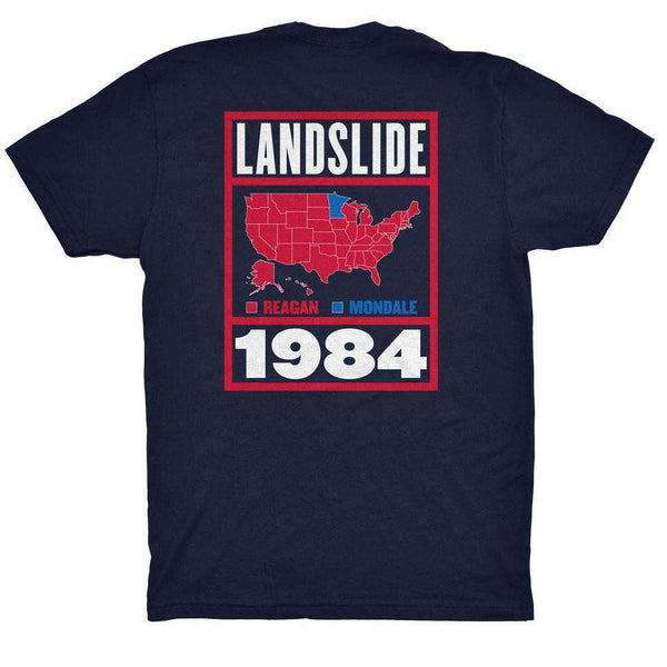 Landslide Pocket Tee in Navy by Rowdy Gentleman - FINAL SALE