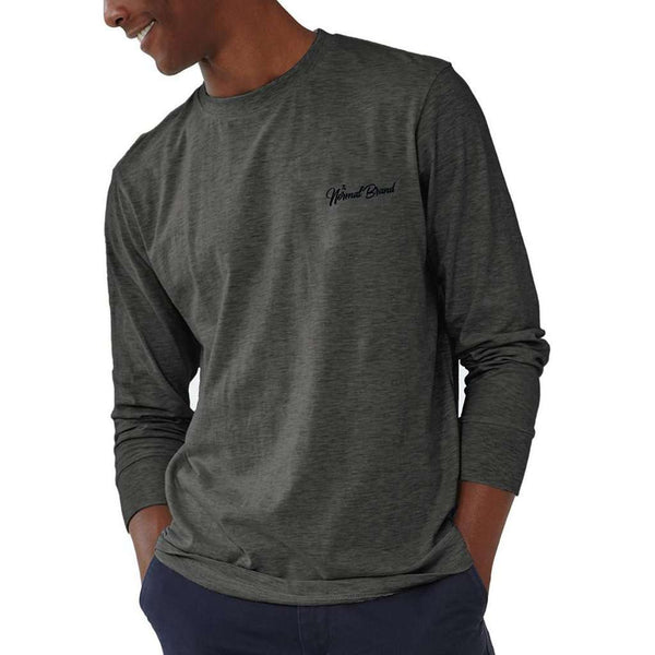 Long Sleeve Industrial T in Tri Blend Grey by The Normal Brand - FINAL SALE