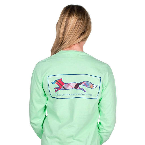 Longshanks Long Sleeve Tee Shirt in Island Reef by Country Club Prep