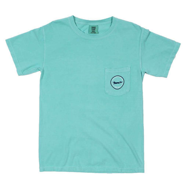 Men's Tee Shirts - Longshanks Tee Shirt In Chalky Mint By Country Club Prep