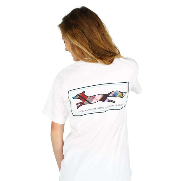 Longshanks Tee Shirt in White by Country Club Prep