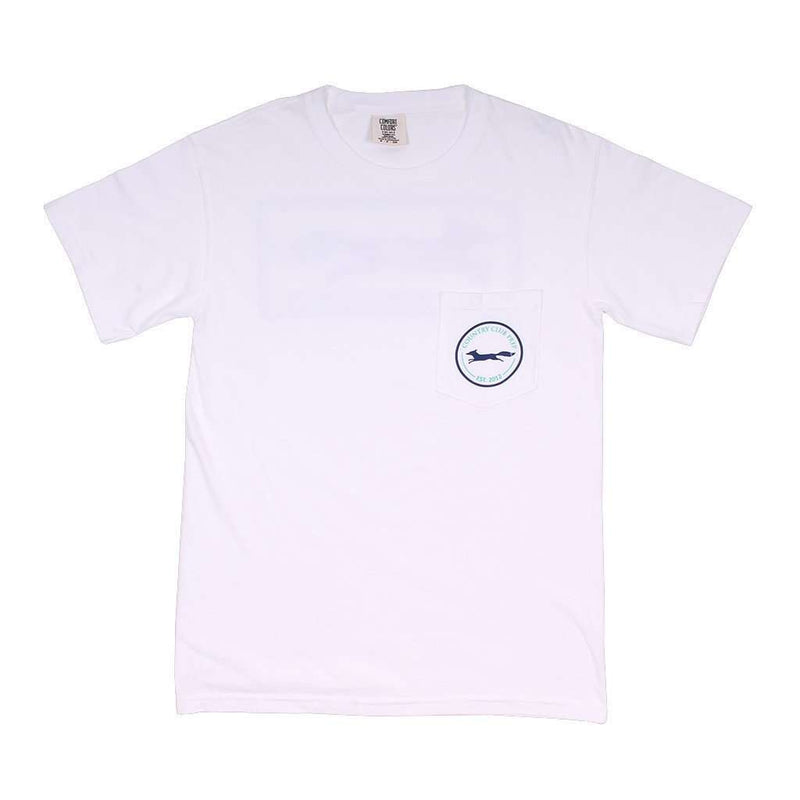 Men's Tee Shirts - Longshanks Tee Shirt In White By Country Club Prep
