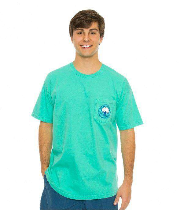 Men's Tee Shirts - Marlin Marker Tee In Mojito By The Southern Shirt Co.