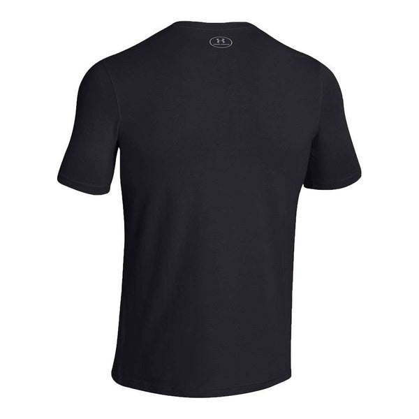 Men's UA Charged Cotton® Sportstyle Tee in Black by Under Armour - FINAL SALE