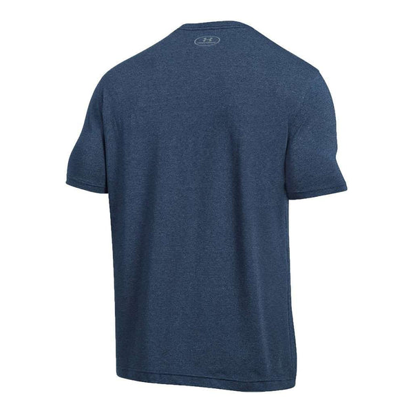 Men's UA Charged Cotton® Sportstyle Tee in Midnight Navy by Under Armour - FINAL SALE