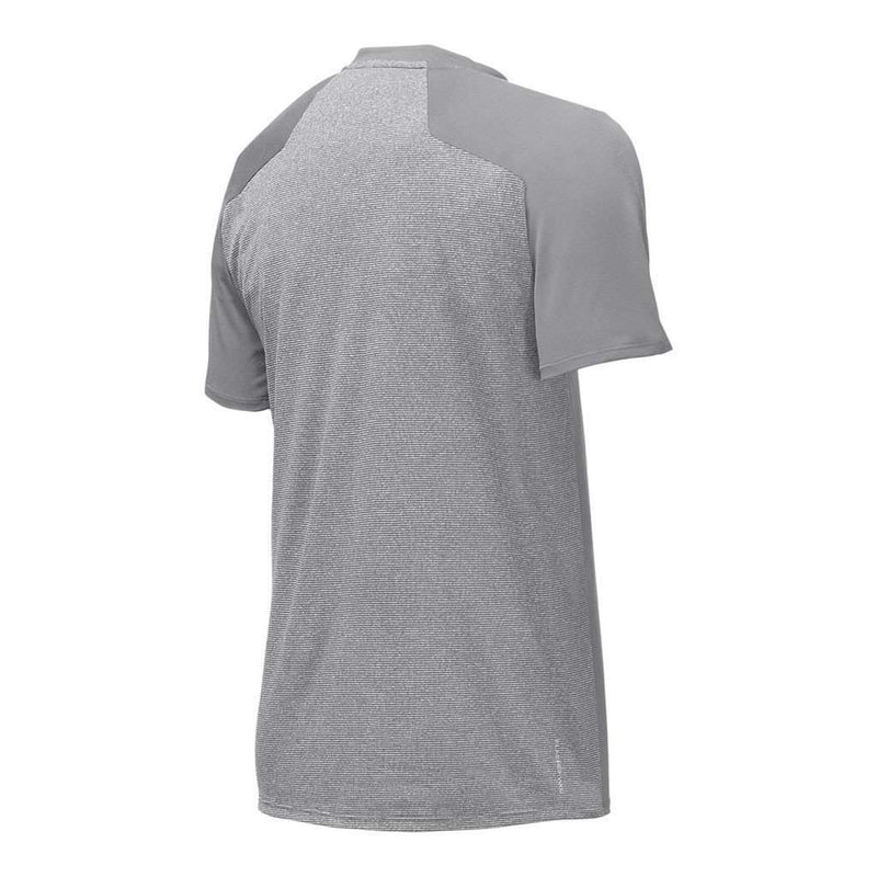 Men's Versitas Short Sleeve Crew Tee in Mid Grey by The North Face