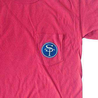 Men's Tee Shirts - MS Oxford Gameday T-Shirt In Red By State Traditions