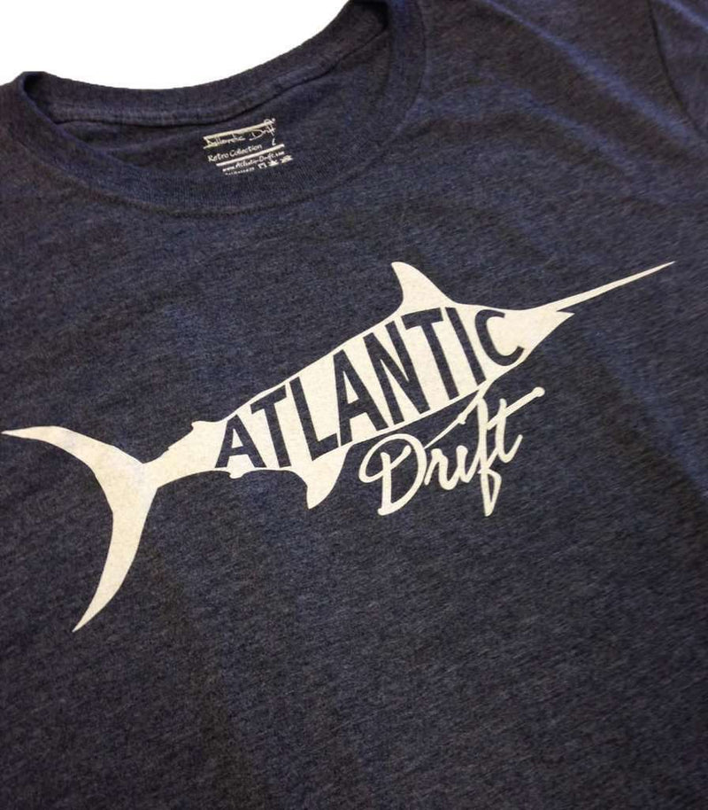 Old Blue Vintage Tee in Heather Navy by Atlantic Drift - FINAL SALE