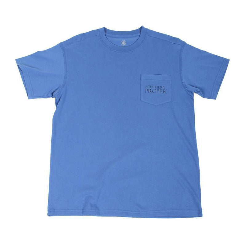 Original Logo Tee Shirt in Washed Snorkel by Southern Proper