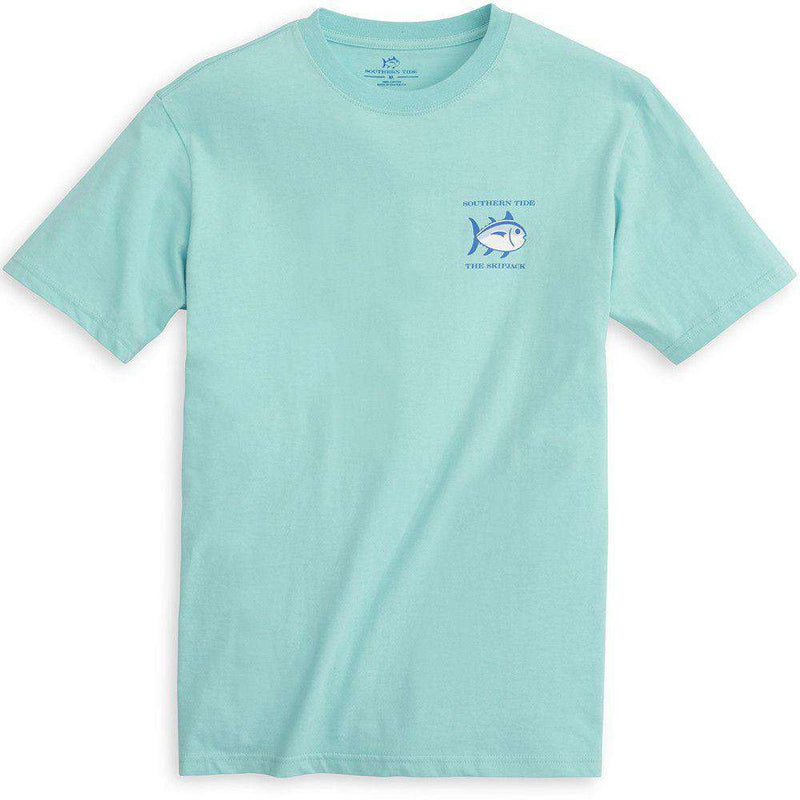 Original Skipjack Tee Shirt in Crystal Blue by Southern Tide