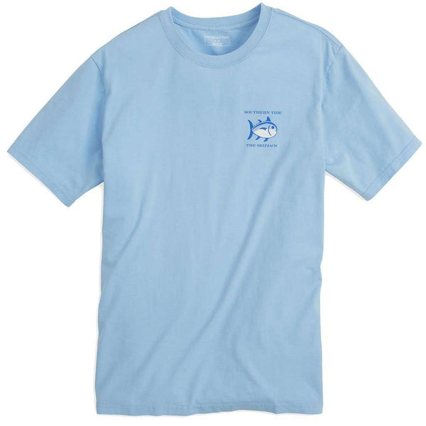 Original Skipjack Tee Shirt in Ocean Channel by Southern Tide