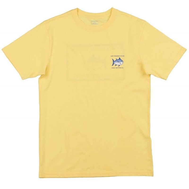 Original Skipjack Tee Shirt in Sunshine by Southern Tide