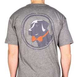 Men's Tee Shirts - Original Tee In Grey By Southern Proper