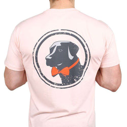Men's Tee Shirts - Original Tee In Pink By Southern Proper