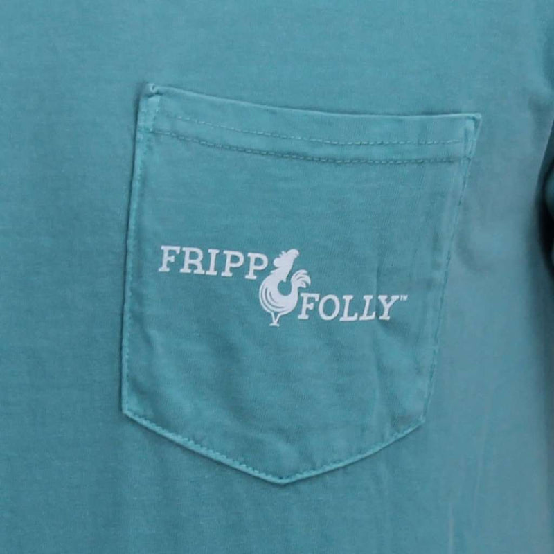 Men's Tee Shirts - Oyster Tee In Seafoam Green By Fripp & Folly