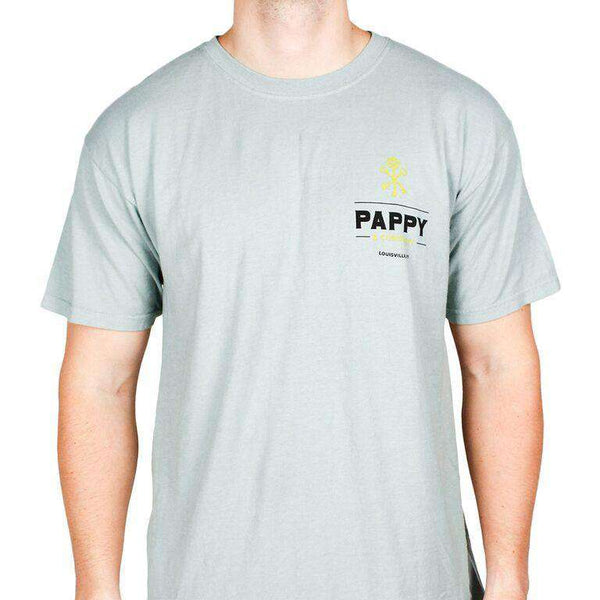 Pappy and Thunder Tee in Grey by Pappy Van Winkle